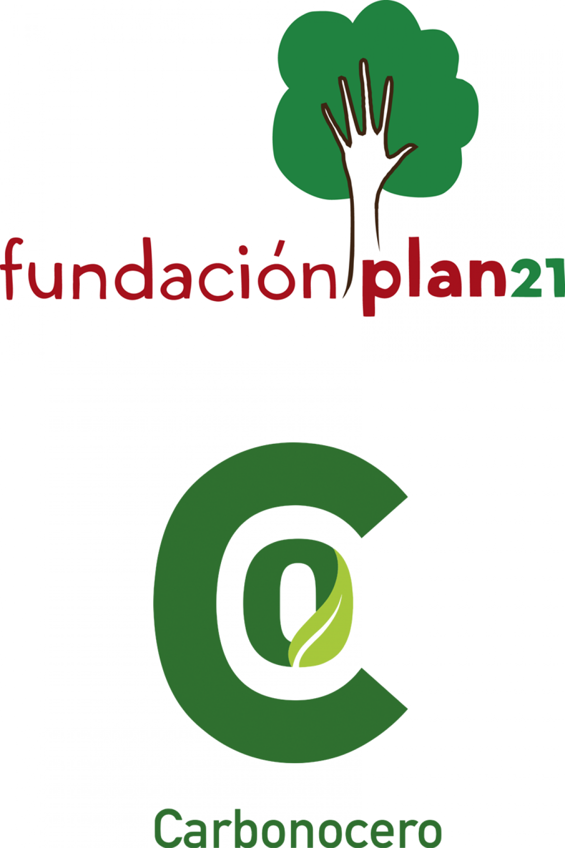 Logo Plan 21 / Carboncero