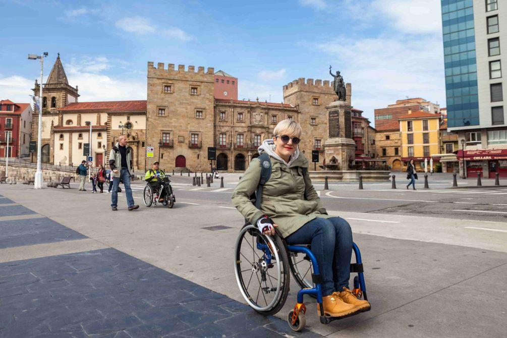 turismo accesible gijon