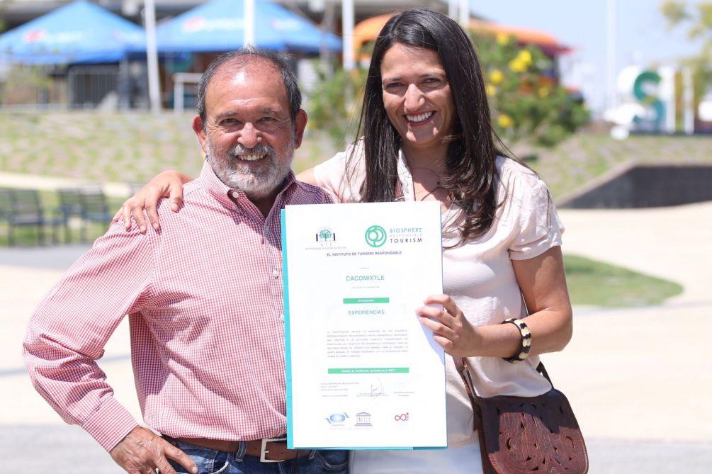 certificado turismo sostenible